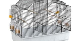 Vogelkäfig mit Trenngitter