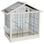 Vogelkäfig kaufen: Vogelheim MONACO schwarz-weiss