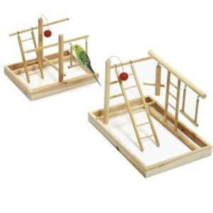 Wellensittich Spielzeug mit Leiter