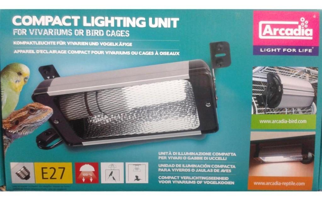 Vogellampe oder Bird Lamp in Verpackung